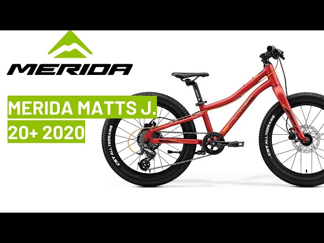 Видео Велосипед Merida Matts J.20+ glossy light blue (blue/white)