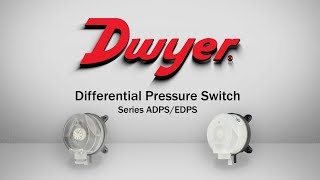 Differential Pressure Switch   Series ADPS & EDPS