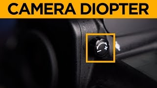 Camera Diopter Adjustment | How to get a sharp viewfinder