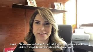 Deputada Federal Dra. Marina Santos - Dia Nacional da Saúde