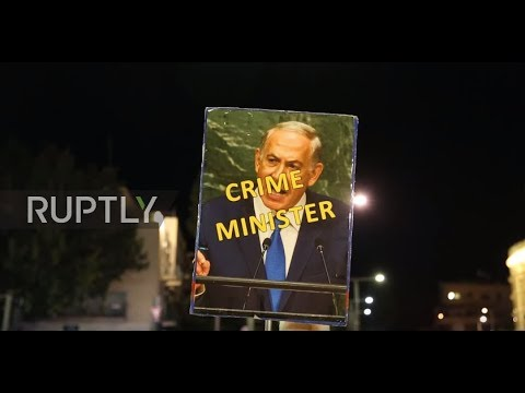 Israel: 'Crime Minister' - Protesters demand Netanyahu's resignation