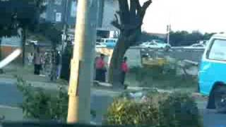 preview picture of video 'The streetlife and traffic at Lusaka's roundabout'