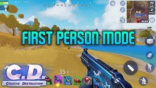 CREATIVE DESTRUCTION - FIRST PERSON GAMEPLAY - iOS / ANDROID