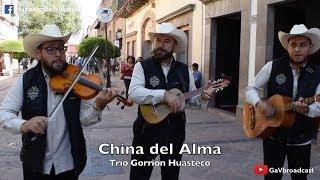 """El Trío Gorrión Huasteco toca """"China del Alma"""" desde el centro de Querétaro"""