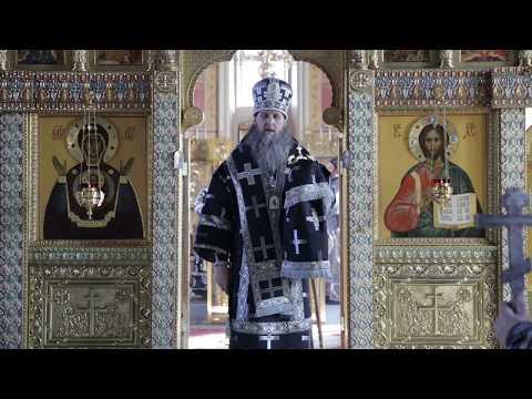 Проповедь владыки Даниила в Пятницу 6-й седмицы Великого Поста