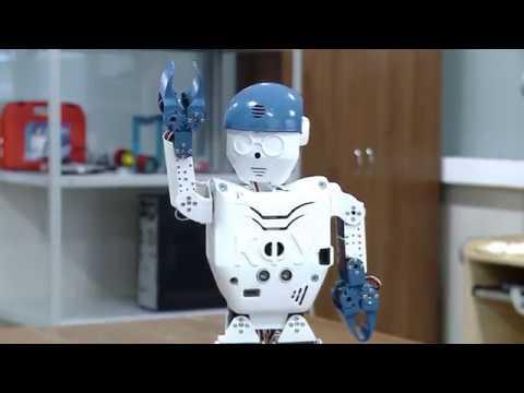 РОМА - РОбот Малый Антропоморфный. ROMA -  RObot sMall Anthropomorphic.