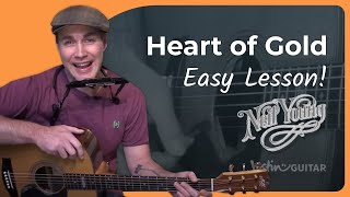Heart Of Gold   Neil Young   Guitar Lesson (ST 909) How To Play Acoustic