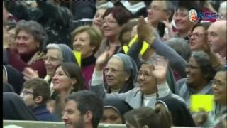 La Catequesis del Papa: Audiencia General 14-12-2016