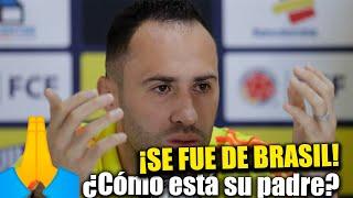 David Ospina SE VA De La Selección Colombia Por Salud De Su Papá ¿No Continúa En La Copa América?