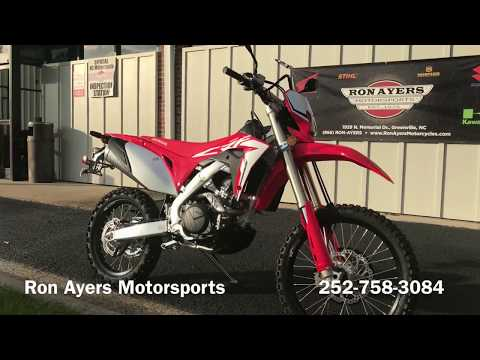 2019 Honda CRF450L in Greenville, North Carolina - Video 1