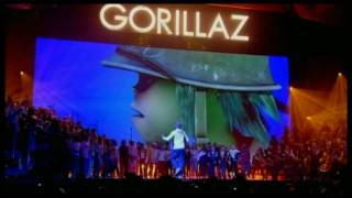 Gorillaz   Dirty Harry (Live BRITs Performance)