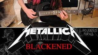 METALLICA - Blackened GUITAR COVER (full song)