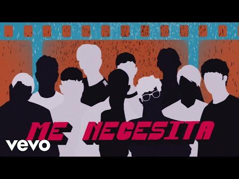 PRETTYMUCH, CNCO - Me Necesita (Lyric Video)