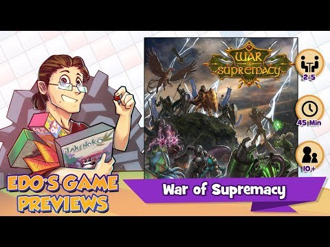 Edo's War of Supremacy Review (KS Preview)