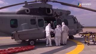 Armata franceză transportă, zilnic, zeci de pacienți COVID-19 în afara Parisului