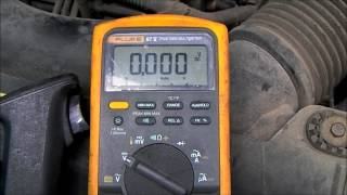 Voltage Drop Testing the Starter