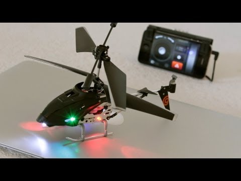 Griffin Helo TC Helicopter Review and Demo (iOS Controlled)