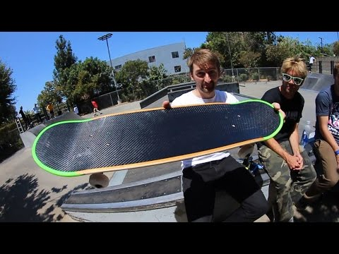 A SKATEBOARD THAT WON'T CHIP?!