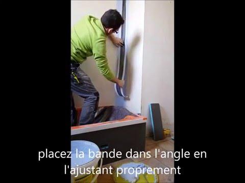 Eric Le Carreleur - Imperméabilisation sous carrelage/faience type spec weber protect