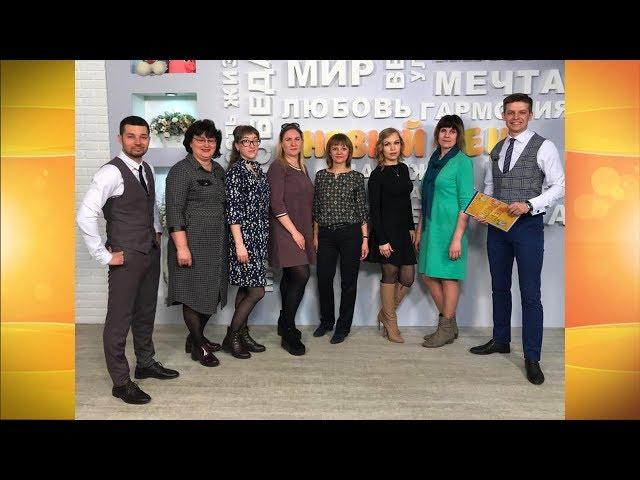 Гости программы «Новый день» Команда КВН «Шпильки»