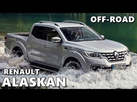 2018 Renault Alaskan Off-Road Action