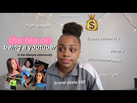the TRUTH about being a youtuber in the lifestyle community