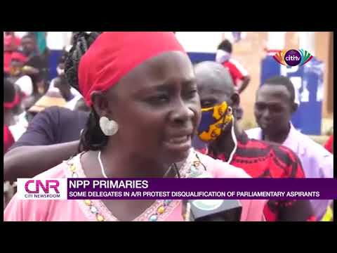 NPP delegates in Ashanti Region protest disqualification of candidates from parliamentary primaries