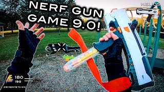 Nerf meets Call of Duty: Gun Game 9.0 | First Person Shooter!