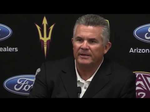 Todd Graham addresses media following dismissal from Arizona State