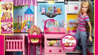 Babysitter Doll and Playset / Barbie jako Opiekunka - Barbie Careers - BLL72 - Recenzja