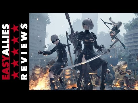 Nier: Automata - Easy Allies Review - YouTube video thumbnail