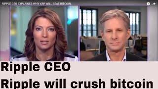 Chris Larsen explains why Ripple will crush bitcoin..CKJ Crypto news
