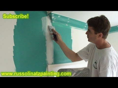 How to fix a crack in the DryWall (Part 2)