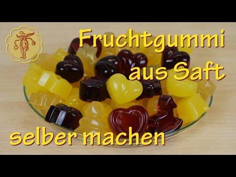 Fruchtgummi selber machen - aus Fruchtsaft