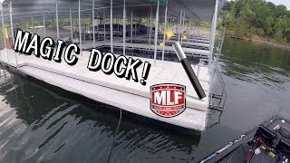 MAGIC DOCK FOUND! MLF Bass Pro Tour Stage 6 Table Rock Lake (part 1)