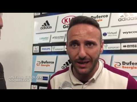 Entella-Arezzo 2-1, intervista a Nello Cutolo