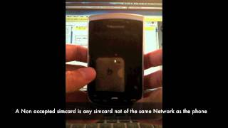UNLOCK BLACKBERRY 9810 TORCH INSTANTLY - How to Unlock 9810 by MEP Unlock Code