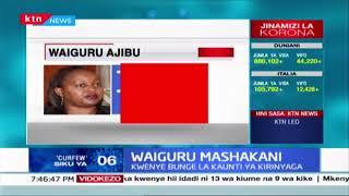 Waiguru Mashakani baada ya kushutumiwa kutumia mamlaka vibaya huku hoja ya kumng\'atua ikiwasilishwa