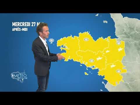 Illustration de l'actualité La météo pour votre mercredi 27 mai 2020