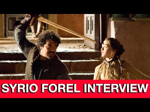 Game of Thrones Syrio Forel Interview - Miltos Yerolemou | MTW