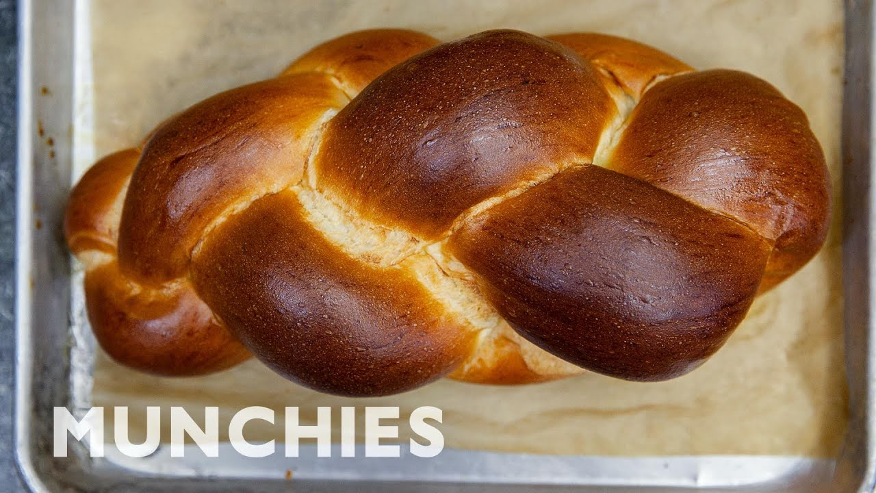 How To Make Braided Challah Bread