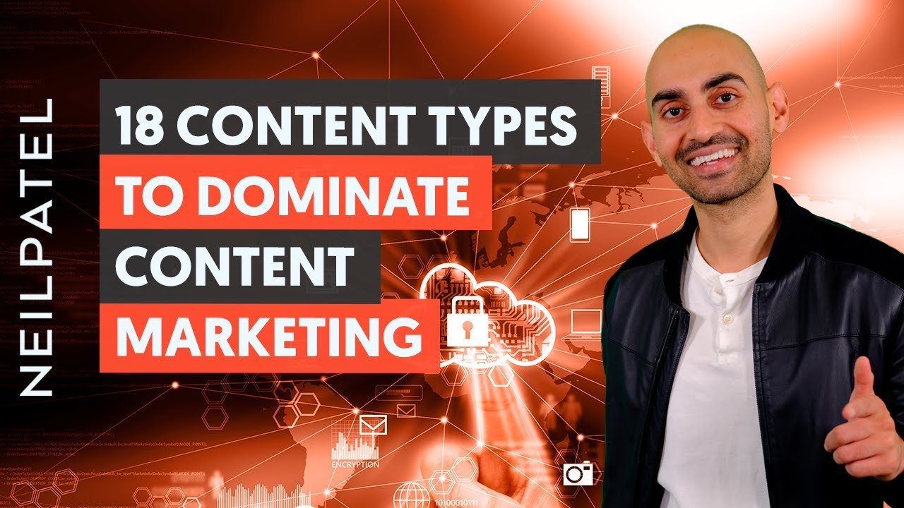 18 Content Types to Dominate Content Marketing