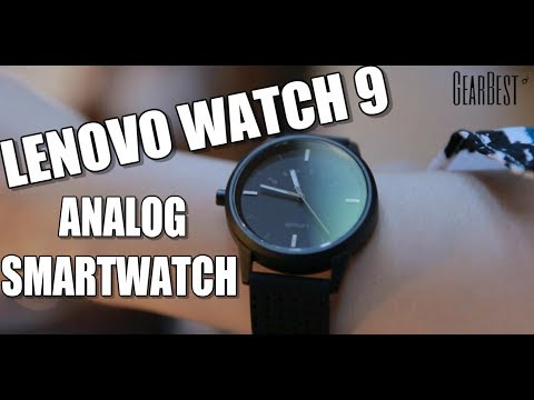 Lenovo Watch 9 Hybrid Analog Smartwatch Features