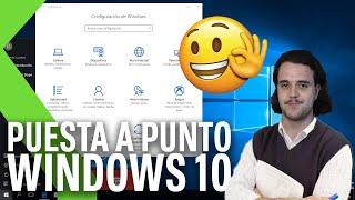 WINDOWS 10 desde CERO: Configuración ÓPTIMA nada más arrancar