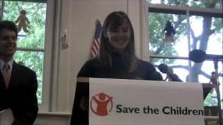 Jennifer Garner pour Save the Children