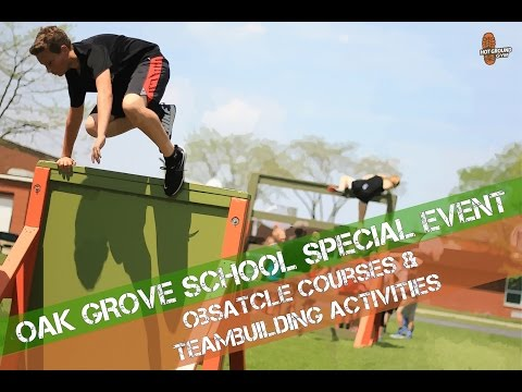 Mobile Obstacle Course & Team Building Activities - YouTube