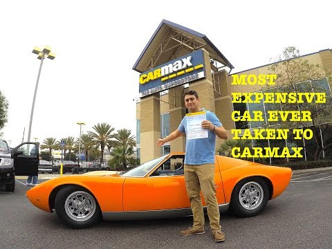 I TOOK THE $3,000,000 LAMBO TO CARMAX! They offered me……
