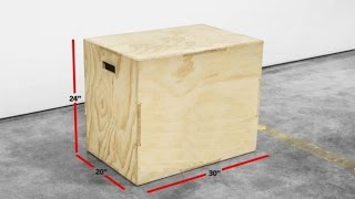 How To Build A Three Sided Crossfit 3 In 1 Plyometric Jump Box