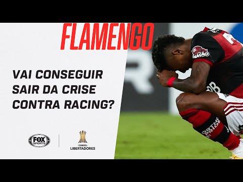 FLAMENGO VAI CONSEGUIR SAIR DA CRISE CONTRA RACING? | Especial Libertadores