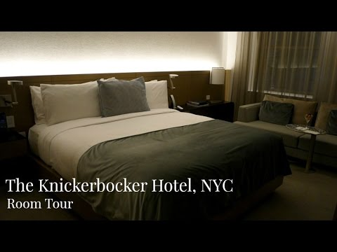 The Knickerbocker Hotel Room Tour | New York Luxury Hotel | Lux Life